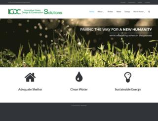igdcsolutions.org screenshot