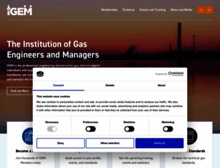 igem.org.uk screenshot