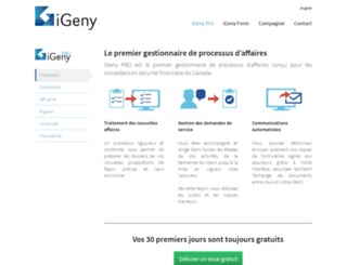 igeny.com screenshot