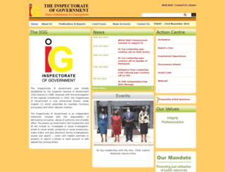igg.go.ug screenshot