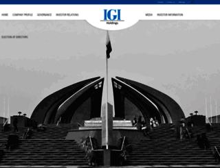 igi.com.pk screenshot