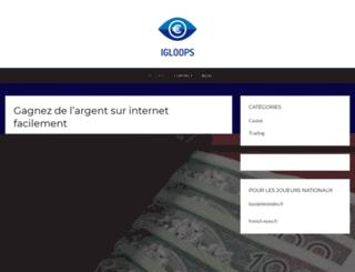 igloops.fr screenshot