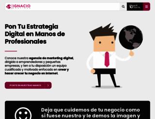ignaciosantiago.com screenshot