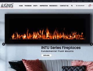 ignisproducts.com screenshot
