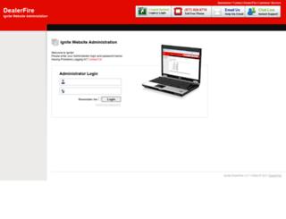 ignite.dealerfire.com screenshot