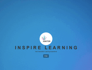 ignitorlearning.com screenshot