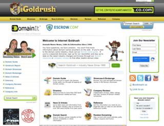 igoldrush.com screenshot
