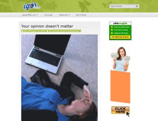 igorgriffiths.com screenshot