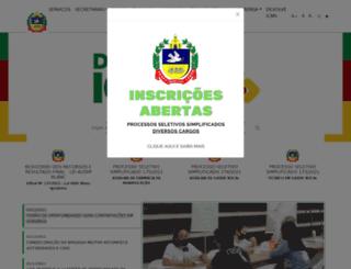 igrejinha.rs.gov.br screenshot