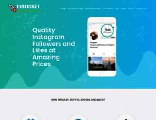 igrocket.com screenshot