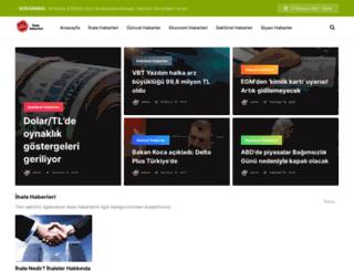 ihalegundem.com screenshot