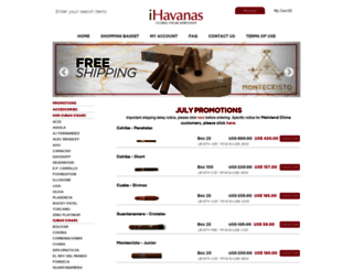ihavanas.com screenshot