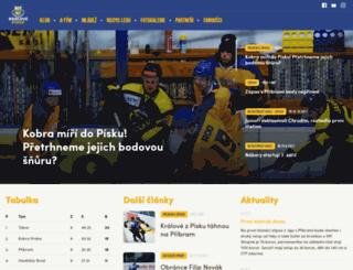 ihcpisek.cz screenshot