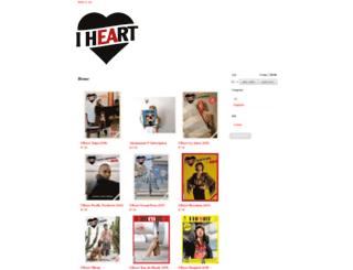 iheartmagazine.bigcartel.com screenshot