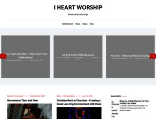 iheartworship.com screenshot