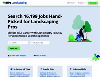 ihirelandscaping.com screenshot