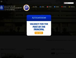 ihmahmedabad.com screenshot