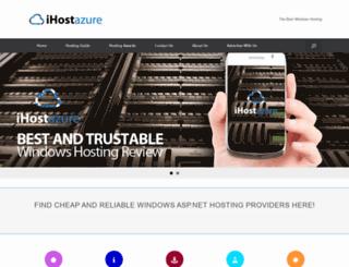 ihostazure.com screenshot