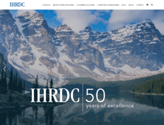 ihrdc.com screenshot