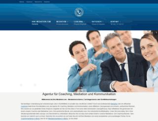 ihre-mediation.com screenshot