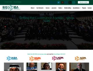 iias-iisa.org screenshot