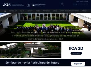 iica.int screenshot