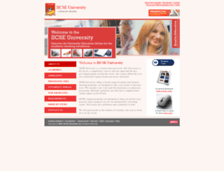 iicseuniversity.org screenshot