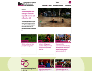 iied.org screenshot