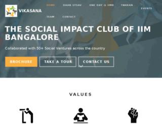 iimbvikasana.com screenshot