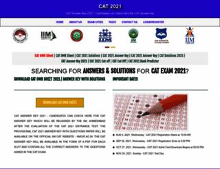 iimcat-ac.in screenshot