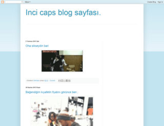 iincicaps.blogspot.com screenshot