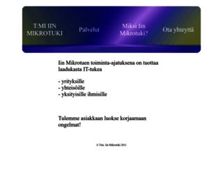 iinmikrotuki.fi screenshot