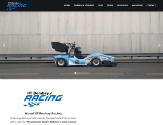 iitbracing.org screenshot