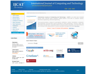 ijcat.org screenshot
