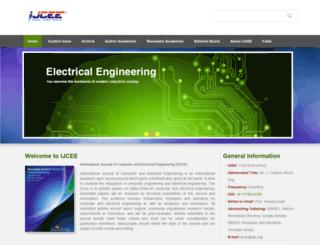 ijcee.org screenshot