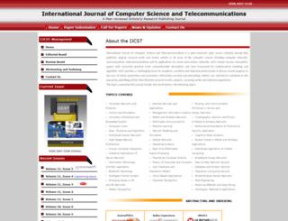 ijcst.org screenshot