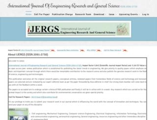 ijergs.org screenshot