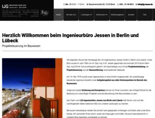 ijg-bauen.de screenshot