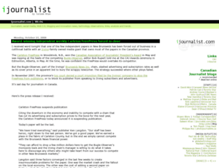 ijournalist.com screenshot