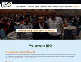 ijsoweb.org screenshot