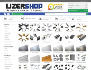 ijzershop.nl screenshot