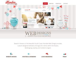 ikandee.com.au screenshot