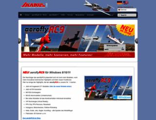 ikarus-modellbau.de screenshot