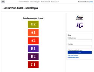 ikasgela.santurtzieus.com screenshot