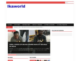 ikaworld.com screenshot