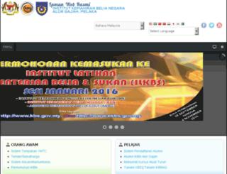 ikbnag.gov.my screenshot