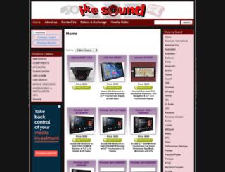 ikesound.com screenshot