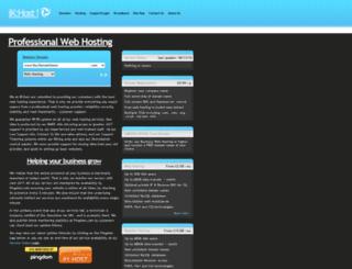 ikhost.net screenshot
