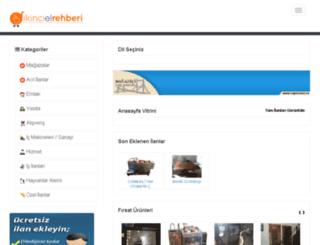 ikincielrehberi.com screenshot
