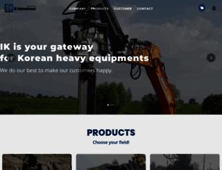 ikintlcorp.com screenshot